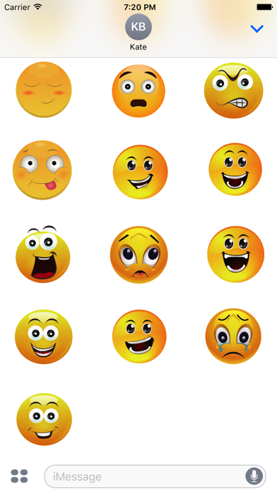 Animated Smiley Stickers screenshot four