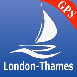 London-Thames GPS Nautical charts