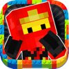 3D Block Ninja Running Pro