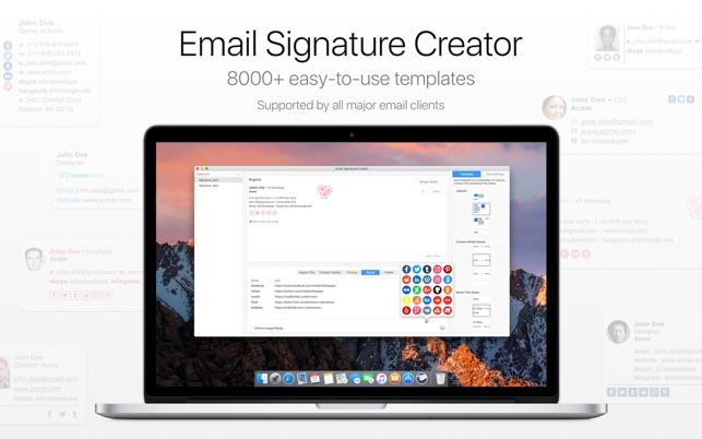 Email Signature Creator