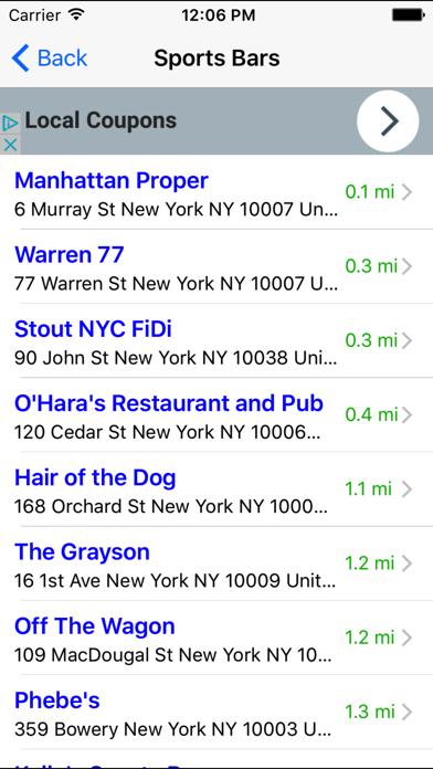 Bar & Happy Hour Finder: Find Your Nearest Bars screenshot four