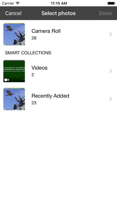 PhotoServer- WiFi photo share screenshot two