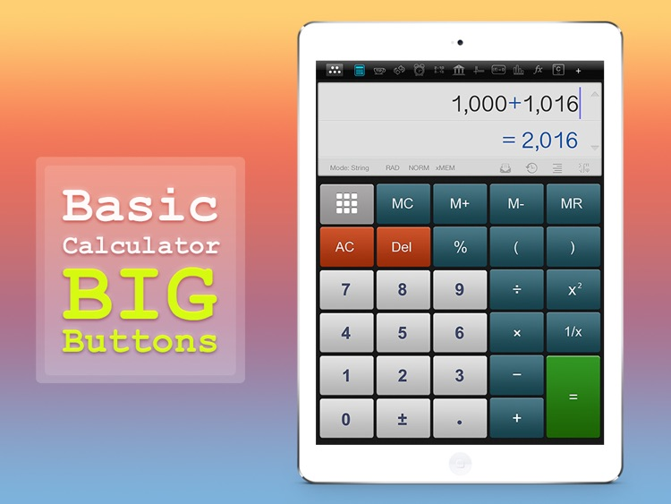 Calculator : Scientific Calculator Unit Converter screenshot-1
