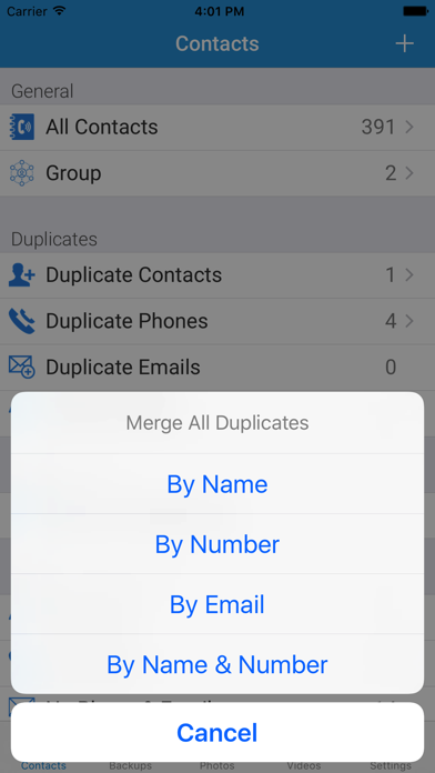 download My Contacts Backup with Photo and Video apps 4