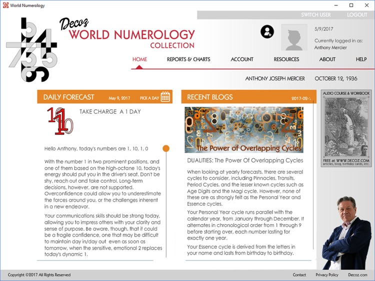 World Numerology for iPad