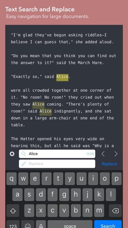 iWriter Pro screenshot-3