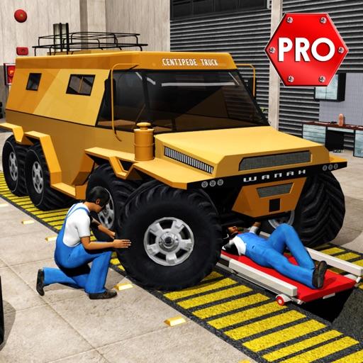 Monster Truck Mechanic Simulator: Repair Shop PRO