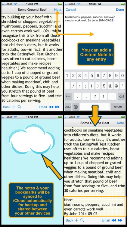 170 Food Swap Ideas screenshot-3