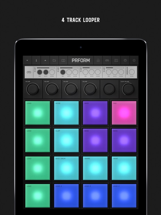 PRFORM – 9 Synths and 16 Pads