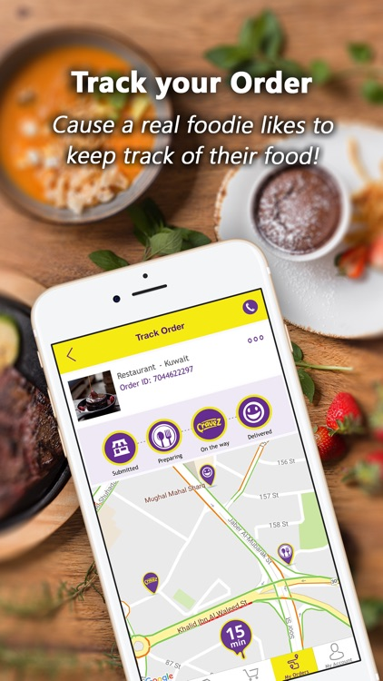 Cravez - Food Delivery screenshot-4