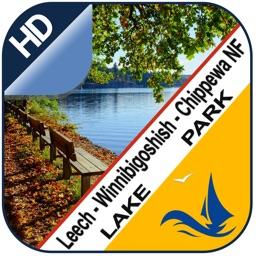 Leech Winnibigoshish Chippewa NF lake & park trail