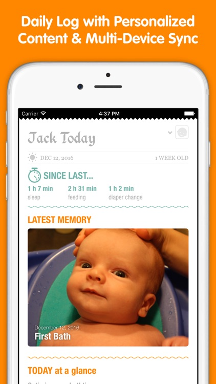 Sprout Baby (Feeding, Sleep & Health Tracker) screenshot-2