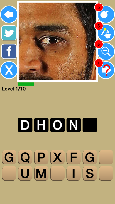 Zoom Out Cricket Game Quiz Maestro screenshot three