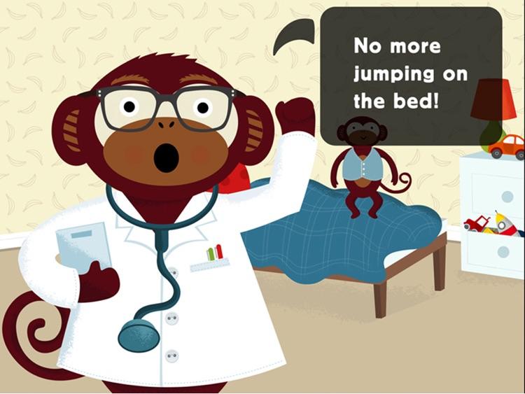Five Little Monkeys for iPad screenshot-3