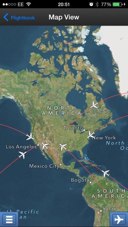 mi Flight Tracker Lite & Flight Radar screenshot-3