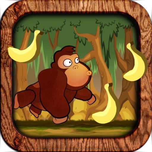 Банан Обезьяна джунглей Запуск игры - Горилла Kong