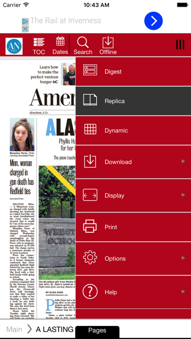 Aberdeen News Screenshot