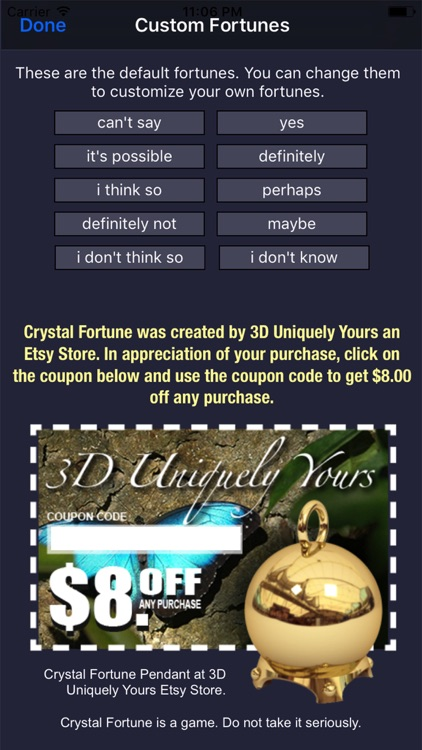 Crystal Fortune screenshot-4