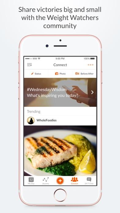 Weight Watchers app image