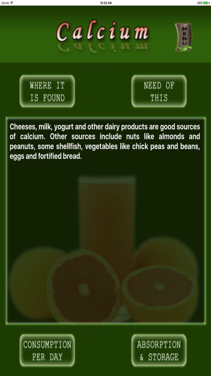Nutrition n Health screenshot-1