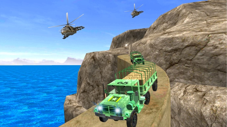 Offroad Army Truck Driver - US Military Commandos screenshot-4