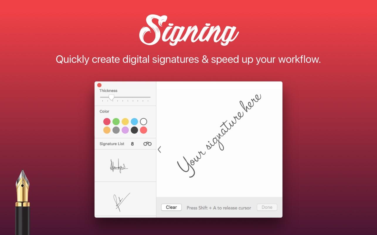 Signing - Digital Signature
