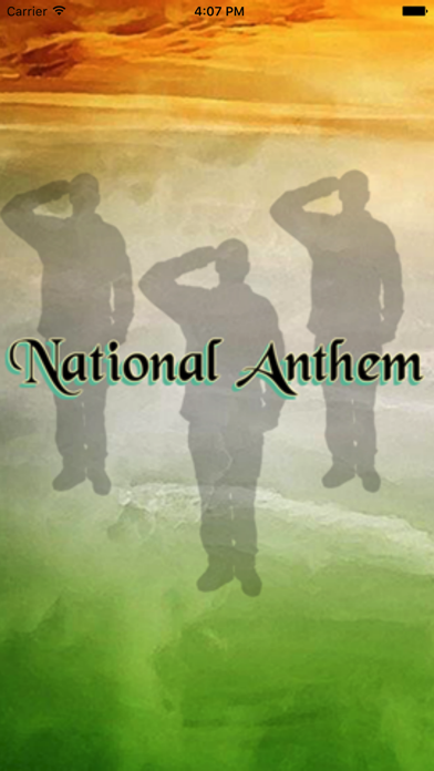 National Anthem screenshot one