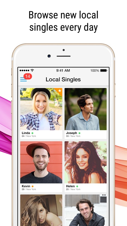 Meetville - Meet New People. Online Dating App