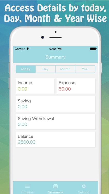 Income & Expense-Money Tracker