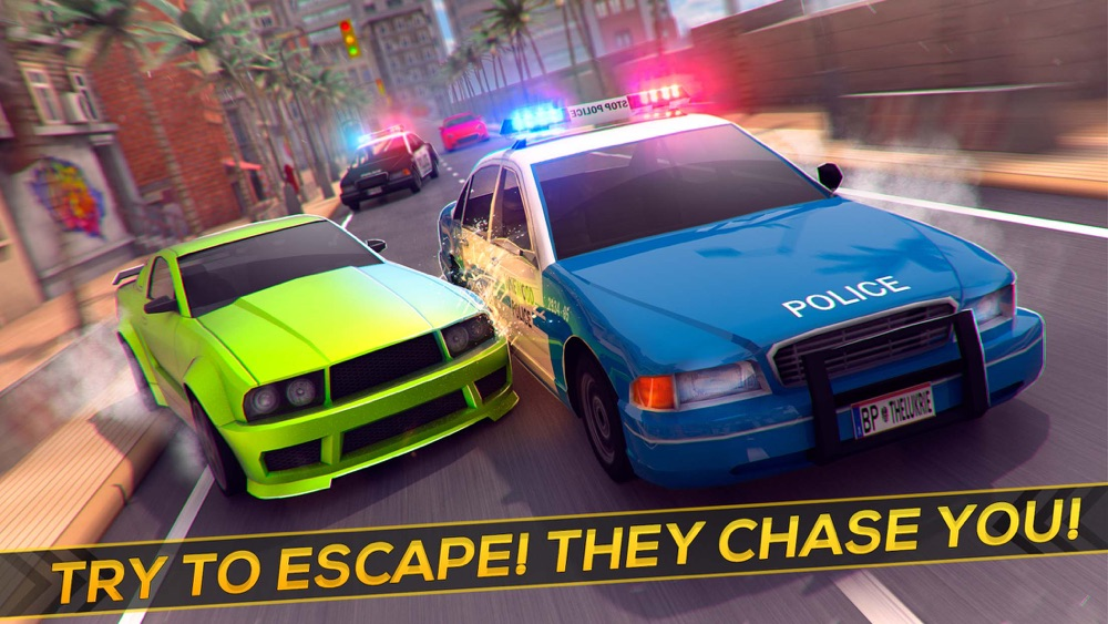 Fast Racing Cops: Speed Driver