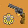 枪射击和重新加载