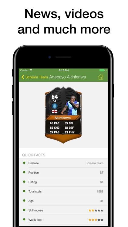 Pocket Wiki for FIFA 17 screenshot-4