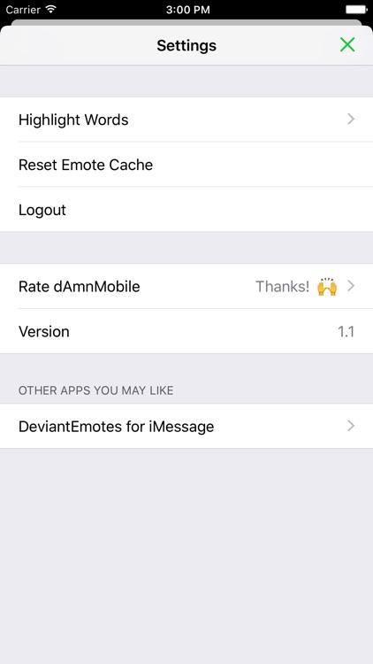 dAmnMobile for DeviantArt screenshot-4