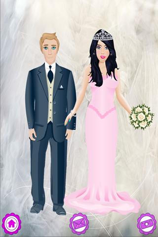 Bridal Salon Dress Up Wedding Bride Makeover Girl - náhled