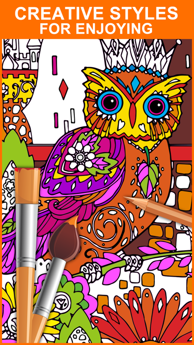 Color Mix - Adult Coloring Books screenshot four