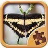 蝴蝶拼图 - 智力游戏