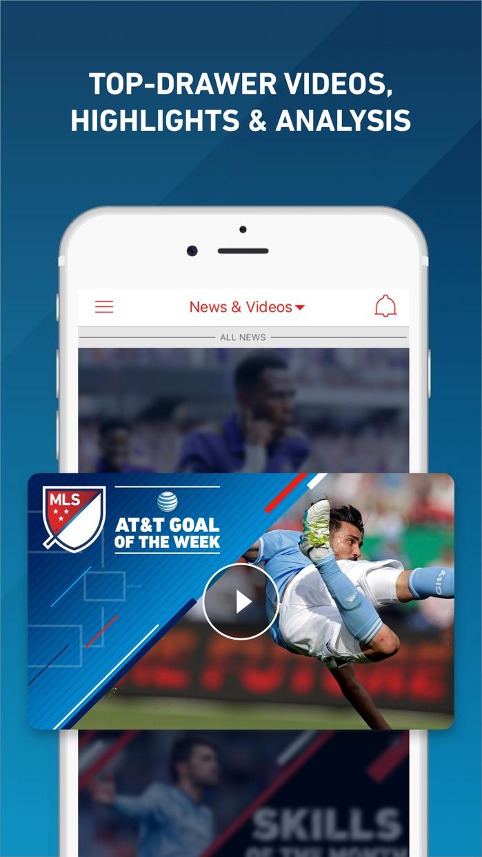 MLS: Scores, News & Highlights Screenshot