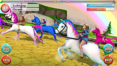 Ultimate Unicorn Dash 3D screenshot one