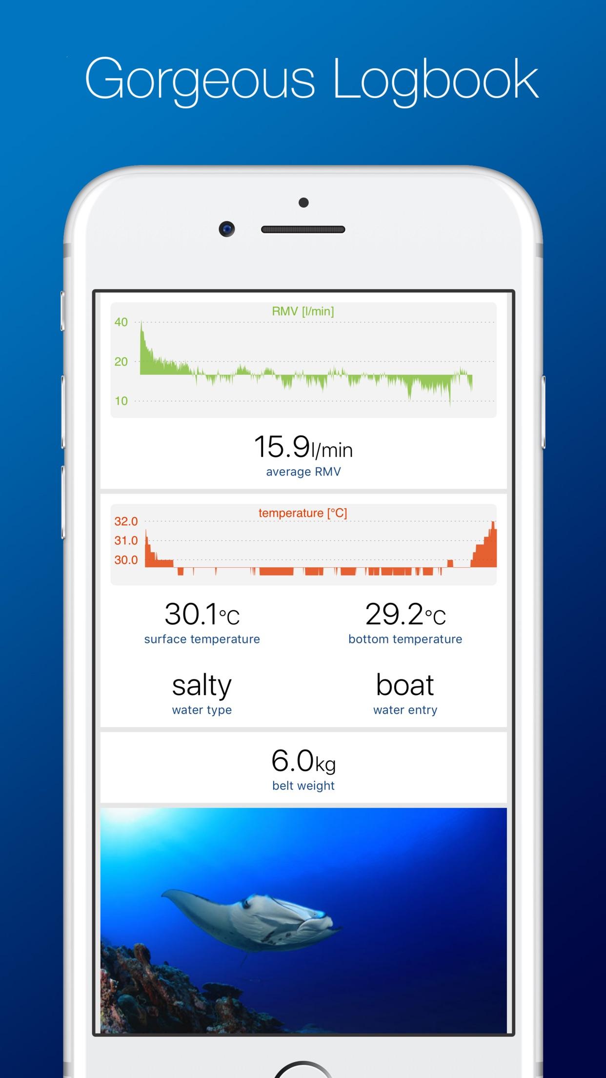 DiveMate - The Diving Logbook Screenshot