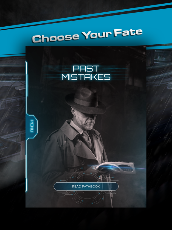 Past Mistakes - Science Fiction dystopian Book app screenshot 7