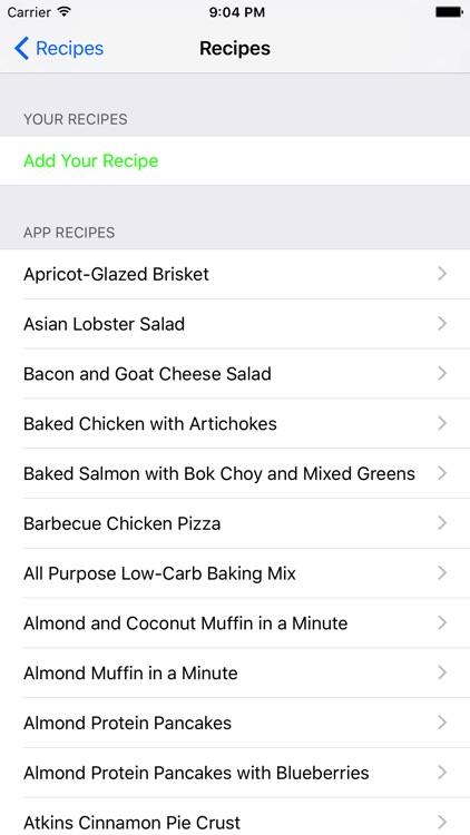 Atkins Diet Tracker - Low Carb Diet Program screenshot-3