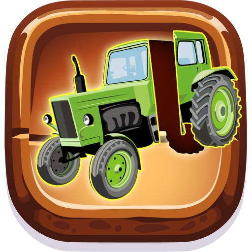 Kids vehicle games : Toddlers boys learning puzzle