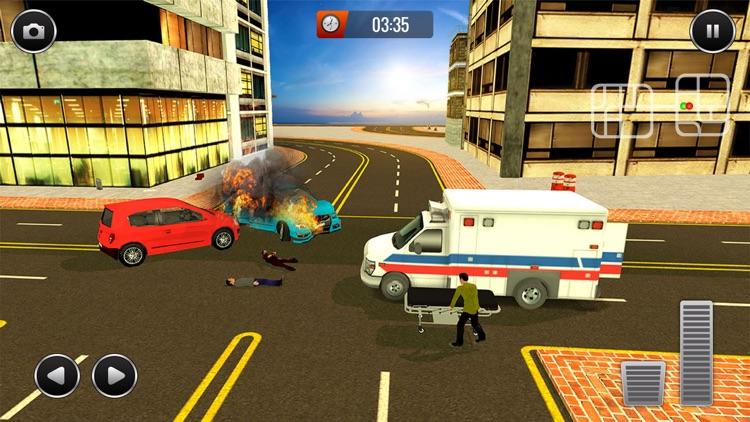 Realistic Ambulance 2017 screenshot-3
