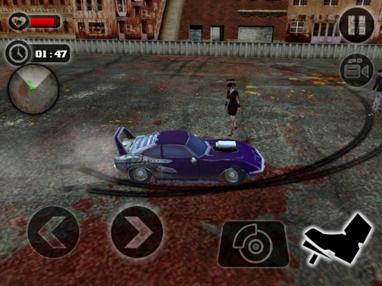 Crazy Car Crush Zombie screenshot 5