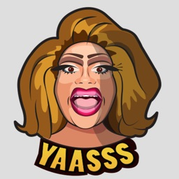Vicky Boofont Drag Diva Stickers
