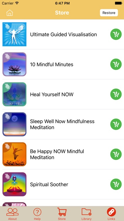Stress Relief Hypnosis: Anxiety, Relax & Sleep screenshot-3