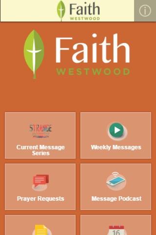 FaithWestwood UMC screenshot 2