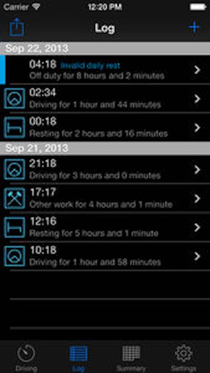 TruckerTimer screenshot-3