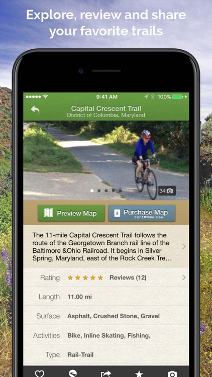 TrailLink - Bike Trails & Offline Trail Maps