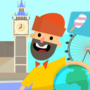 Traveling with Arthur - London city guide for kids app